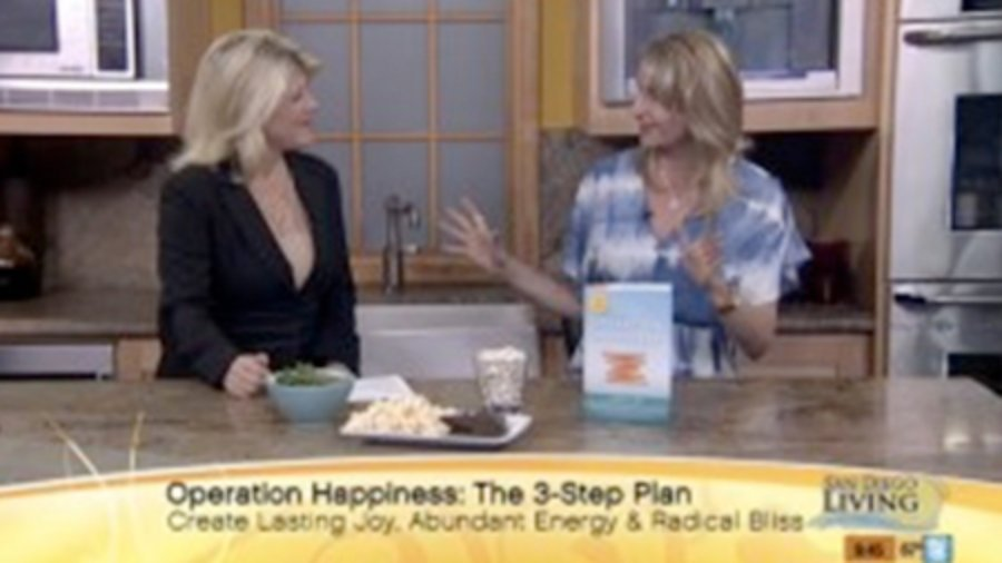 Talking Happiness Tips and Snacks that Boost Joy on The CW Channel 6 San Diego