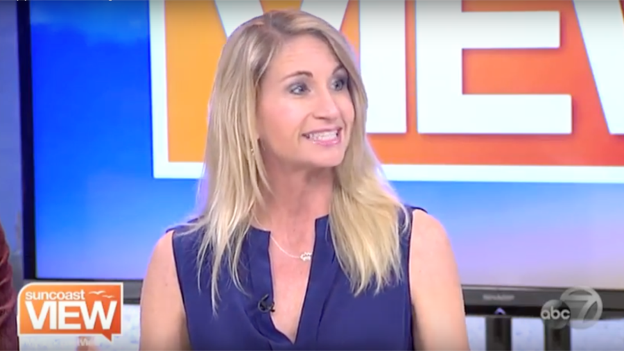 Talking Happiness on ABC 7 Sarasota's Suncoast View