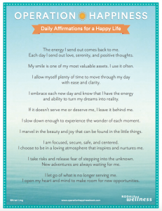 Affirmations Poster Image