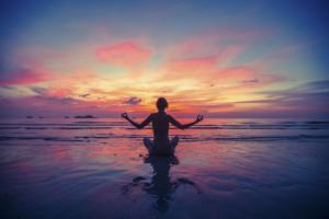 Beach meditation 123
